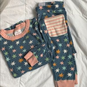 Hanna Andersson Long Johns pjs size US 14 160 star